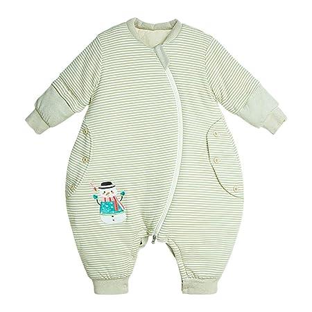 HUYP Saco De Dormir para Bebé Pierna Dividida Otoño E ...