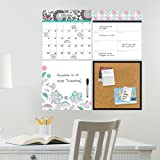 Wall Pops WPE0755 WPE0755 Floral Medley Organizer