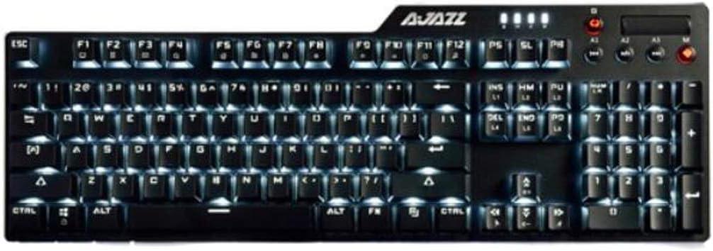 Stable Operation. White Backlight Eating Chicken Keyboard Black Black Axis Chengjinxiang Mechanical Keyboard Non-Slip Foot pad Gaming Mechanical Keyboard Color : Black