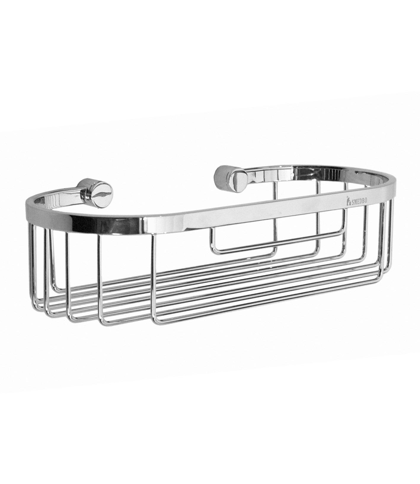 Smedbo SME YK374 Soap Basket Straight 1 Level, Polished Chrome