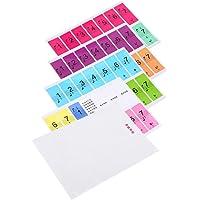 Tbest 2Set Piano Sticker 88 Key Keyboard extraíble