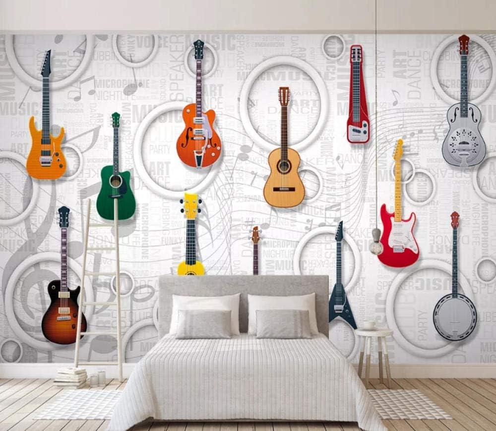 Afashiony Fondo De Pantalla 3D Guitarra Equipo Musical Club ...