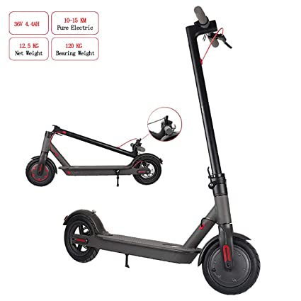 TTW Scooter eléctrico portátil para Adultos-Potente Motor ...