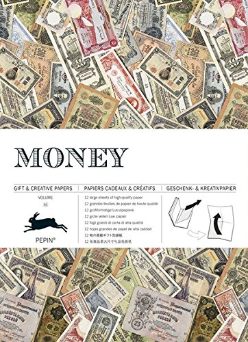 Money: Gift & Creative Paper Book Vol. 61 (Giant Artists Colouring Books)
