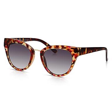Sunglass Junkie Lunettes de Soleil Oeil de Chat pour Femme Ecaille de  Tortue  Amazon.fr  Vêtements et accessoires 6ee7add9994c