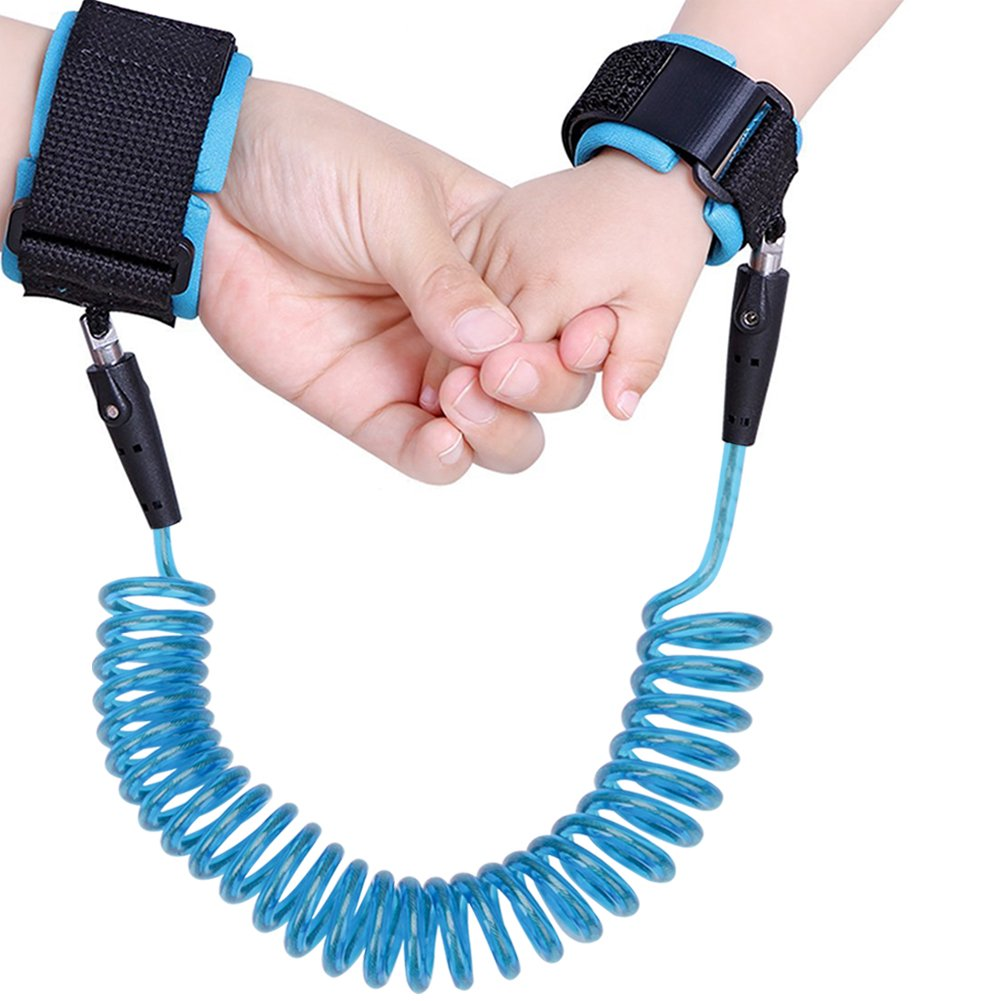 Safety Baby Child Anti Lost Wrist Link Toddler Leash 98 in (Blue) Yaying