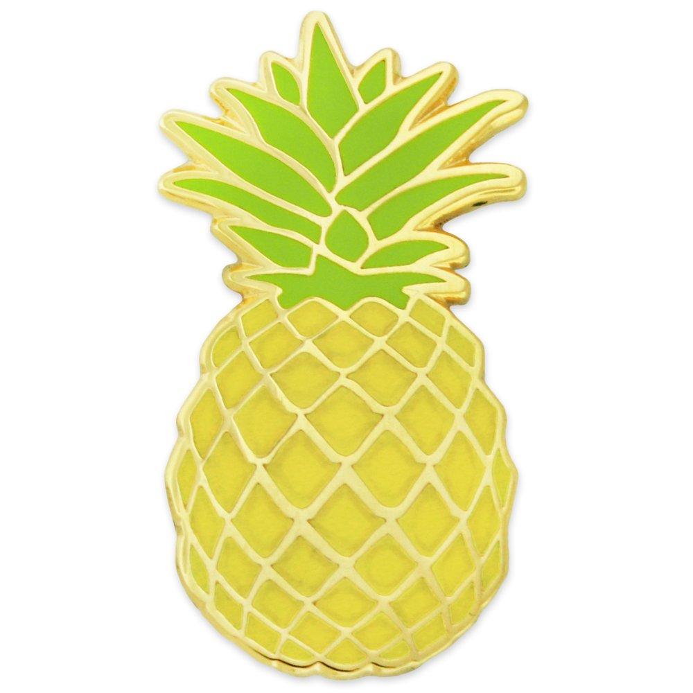 PinMart's Culinary Hospitality Pineapple Fruit Enamel Lapel Pin
