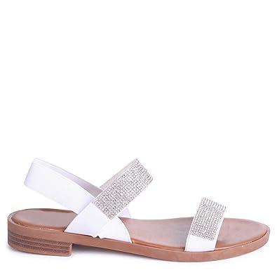 Linzi , Damen Sandalen weiß weiß, weiß - weiß - Größe: 35.5