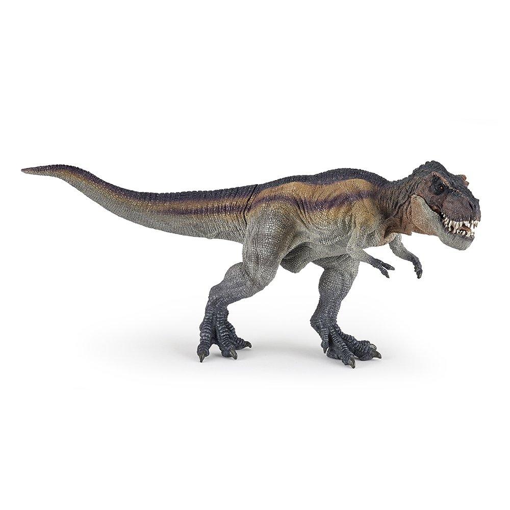 Papo Toys 2055057 - Figura T-Rex Corriendo Marron (Plastico)