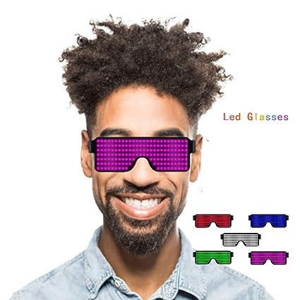 Amazon.com: BYSMO - Gafas de luz LED que brillan en la ...