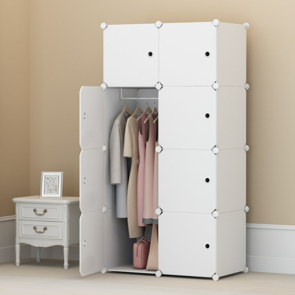 Großartig Raumhoher Kleiderschrank Fotos - Schlafzimmer Ideen ...