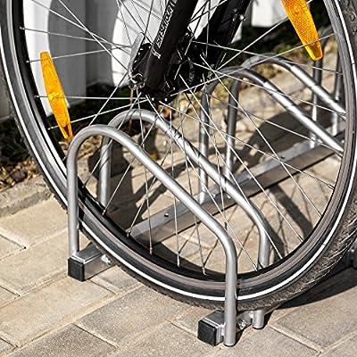 TecTake Aparcamiento para Bicicletas Soporte Bicicleta para Suelo y Pared - Varios Modelos - (para 3 Bicicletas | no. 402377): Amazon.es: Deportes y aire libre
