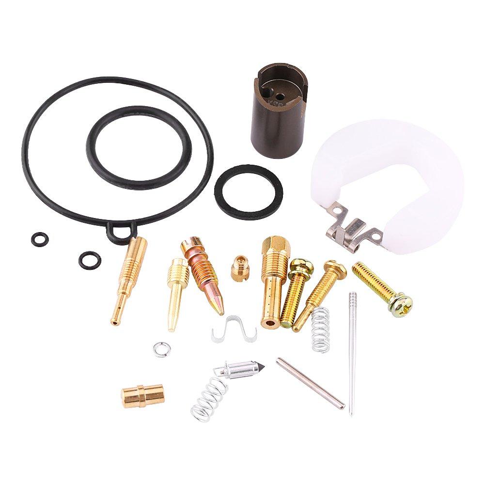 Motorcycle Carburetor Kit Repair Kit, 70-110CC Motorcycle ATV PZ19 Carburetor Repair Rebuild Kit Carb Parts Keenso