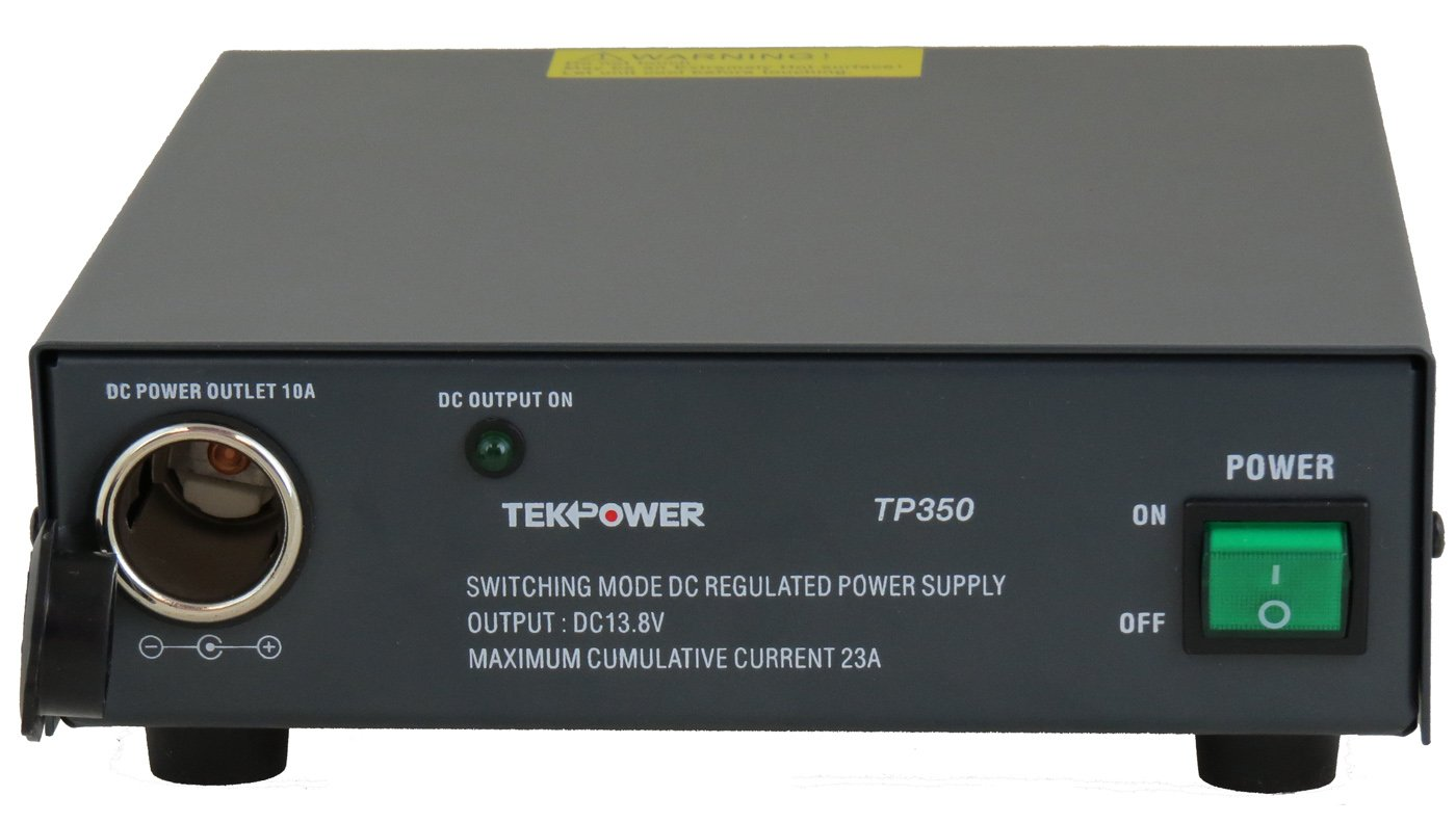 TekPower TP350 23 Amp DC 13.8V Switching Power Supply with Cigarette Plug by Tekpower (Image #2)