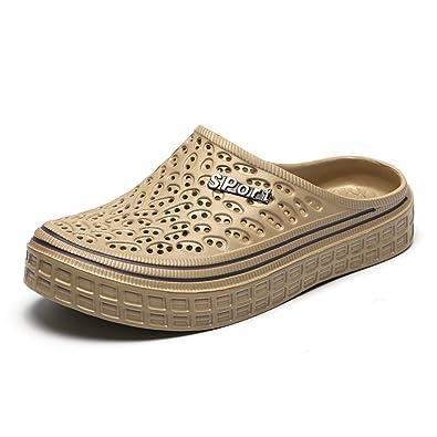 c3a287d25fc6 Men s Women s Summer Breathable Mesh Slippers Beach Garden Clog Sandals  Light Soft Shower Footwear Water Shoes