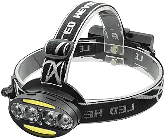 LED Headlight Torch T6 Headlamp Head Light Lamp Rechargeable USB