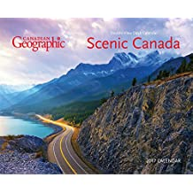 Canadian Geographic Scenic Canada 2017 Double-View Easel Calendar