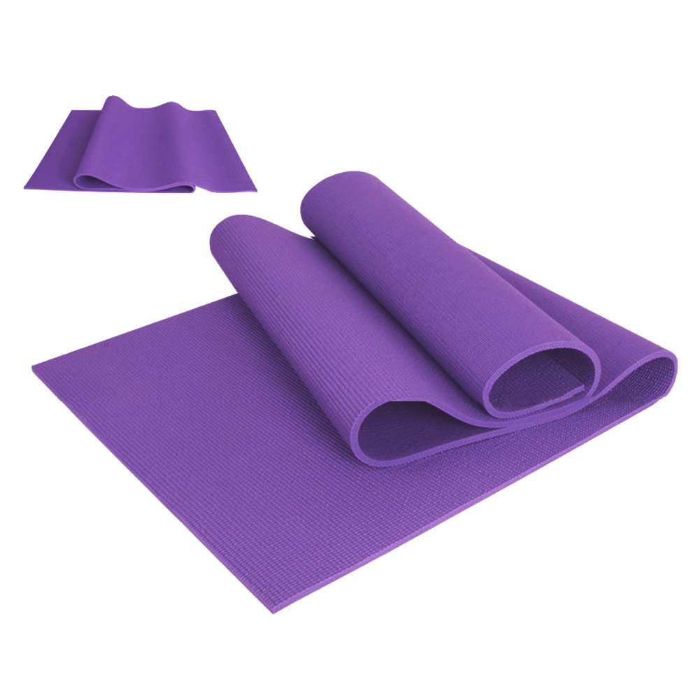 lzndeal alfombra de Yoga antideslizante para suelo, Pilates ...