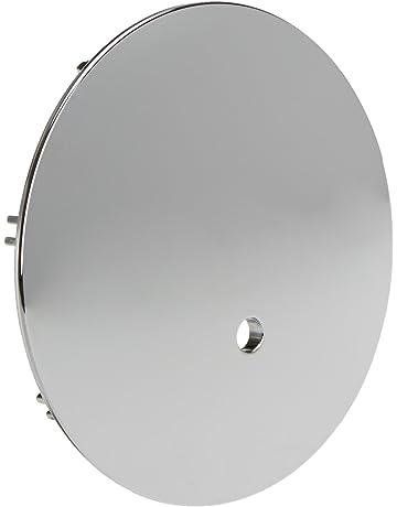 Bianco Profilo Europeo Bulk Hardware BH01951 Rosetta per Foro Chiave in Acciaio Inossidabile Finitura Satinata
