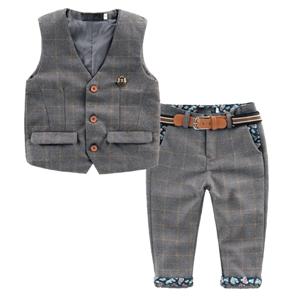 Vestito Abito Completo Bambini Bimbi Gliet + Pantaloni con Cintura , Vestitino Completino Elegante Fashion -Dr.mama®