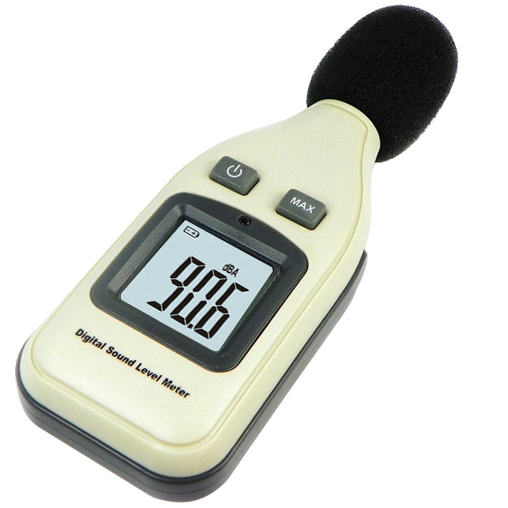 Decibel Meter,Noise Meter / Sound Level Meter Tester Range 30-130dB (A) with LCD Display ( Batteries included ) by Leaton (Image #2)