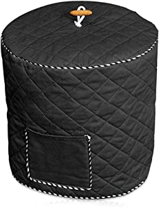 Pressure Cooker Cover, Dust Cover for 6Qt/8Qt Pot, Anti-Static Dust Cover for Electric Pressure Cooker with Front Pocket, Kitchen Appliance Cover