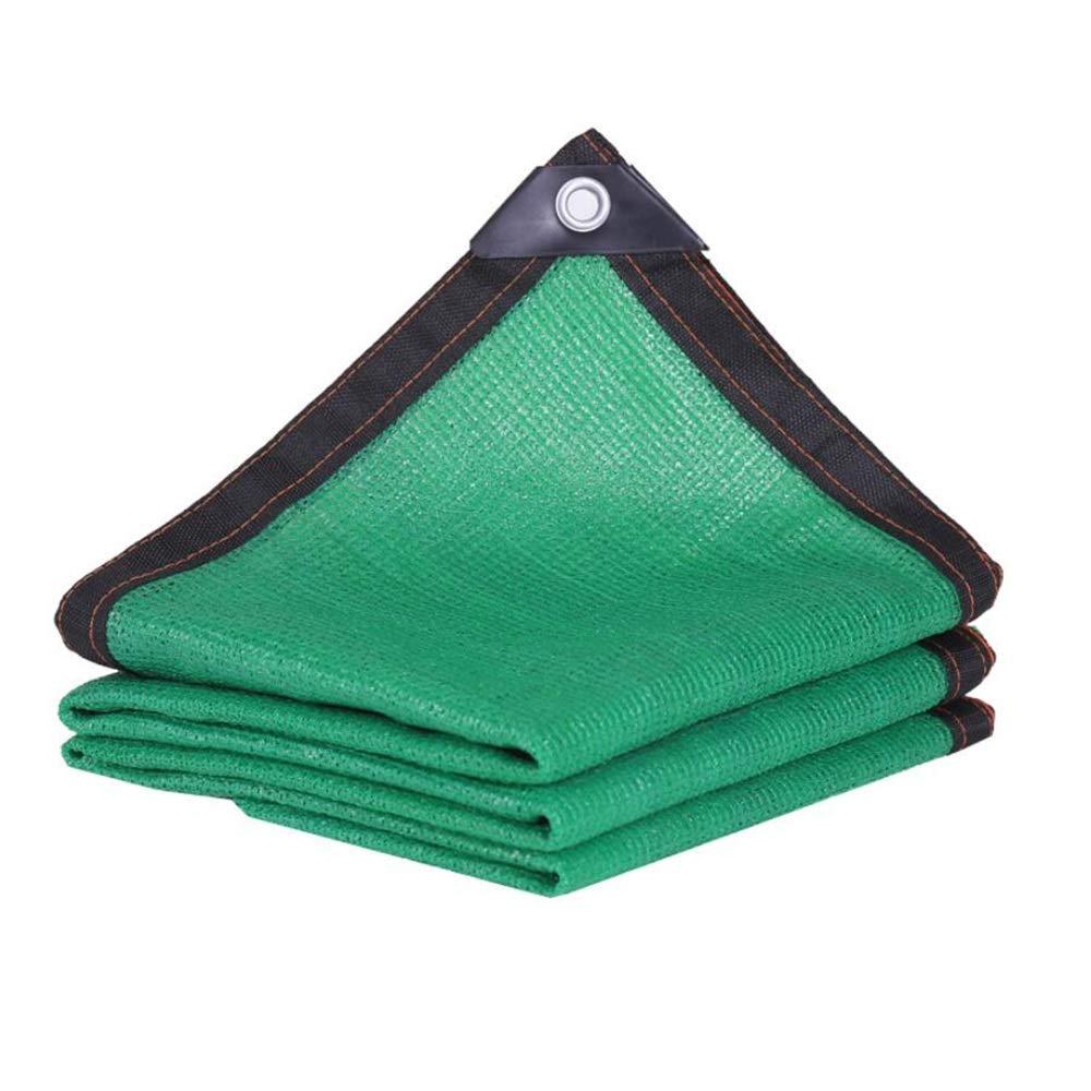 Size : 3mx5m Verde Panno per Visiera Sunshade Net Protezione Solare Rete da Ombreggiatura A 8 Pin Rete Ombreggiante Balcone Rete Domestica