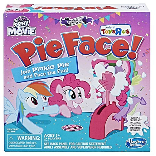 My Little Pony The Movie Pinkie Pie Edition Pie Face! Game (Little Pony My Board Game)