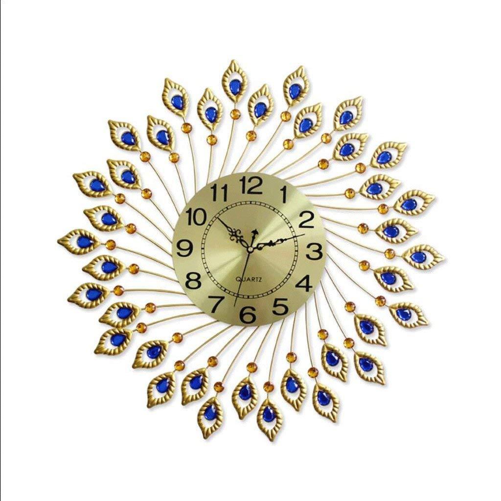 ホームデコレーションクリエイティブパーソナリティウォールクロックJYT、 壁掛け時計モダン時計リビングルームファッションクリエイティブクォーツ時計寝室ミュートクロック ファッション雑貨   B07QRV3485