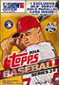 2016 Topps Series 2 MLB Baseball HUGE EXCLUSIVE Factory Sealed Hanger Box with 72 Cards Including 2 SPECIAL MLB Debut GOLD PARALLELS! Loaded with Cool Inserts & RC Cards! Look for Autographs & Relics