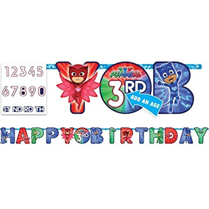 PJ Masks Jumbo Letter Banner Kit (1ct)