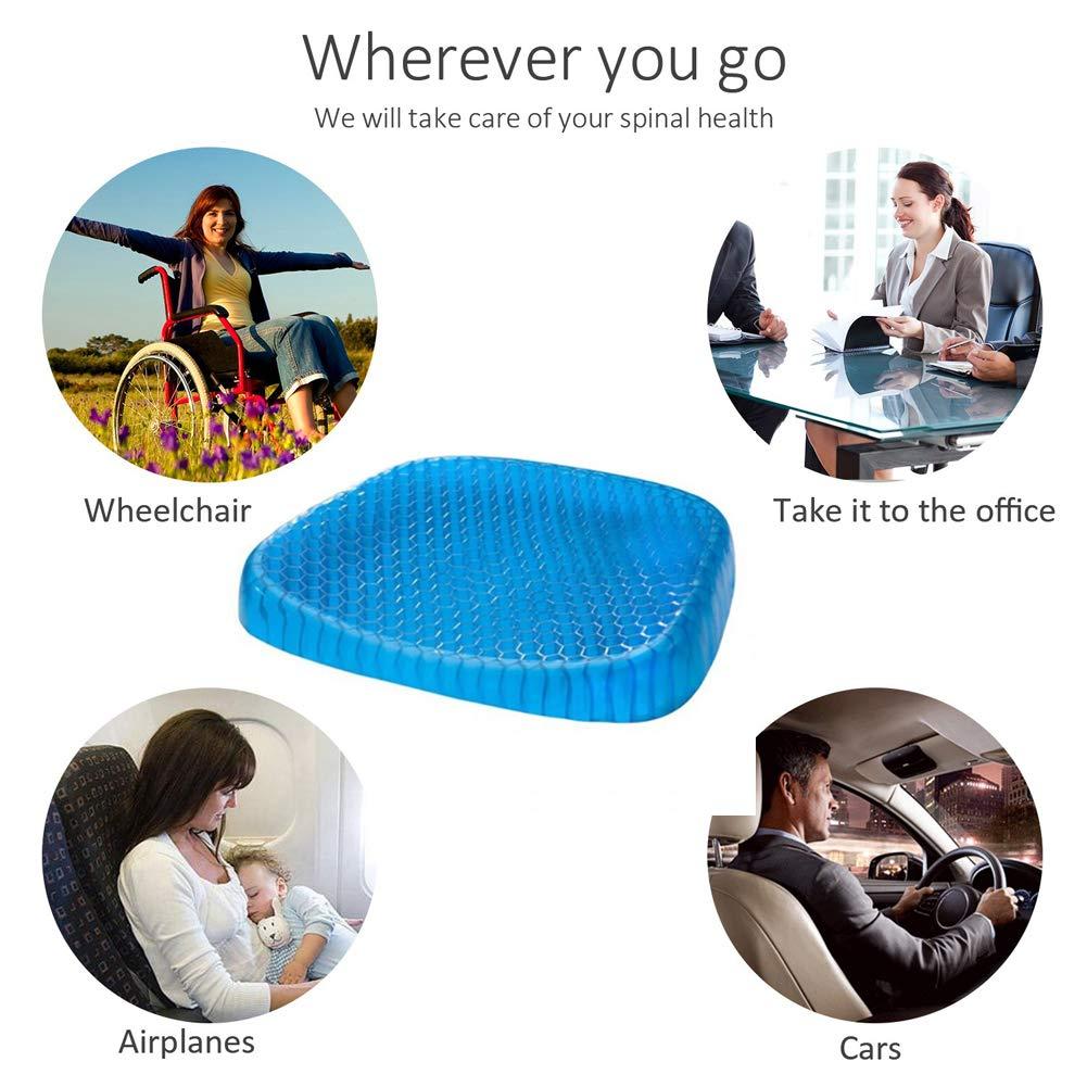 Amazon.com: ALIFET cojín de asiento antideslizante ...