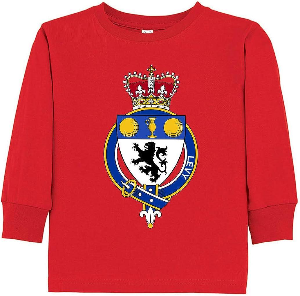 Tenacitee Toddlers English Garter Family Levy Long Sleeve T-Shirt