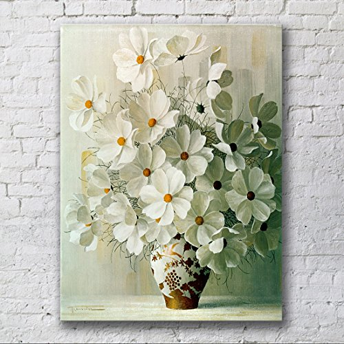 Blooming Safe flowers Modern Stretched and Framed Floral Giclee Canvas Prints