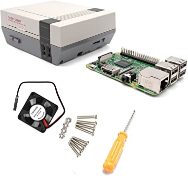 YIKESHU Raspberry Pi 3 Modelo B y NESPI Case y Pequeño ...
