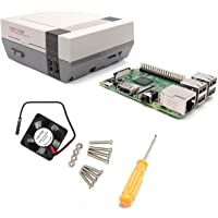 YIKESHU Raspberry Pi 3 and NESPI CASE with Dc 5v 0.2a 30x30x10mm Small Brushless Cooling Fan