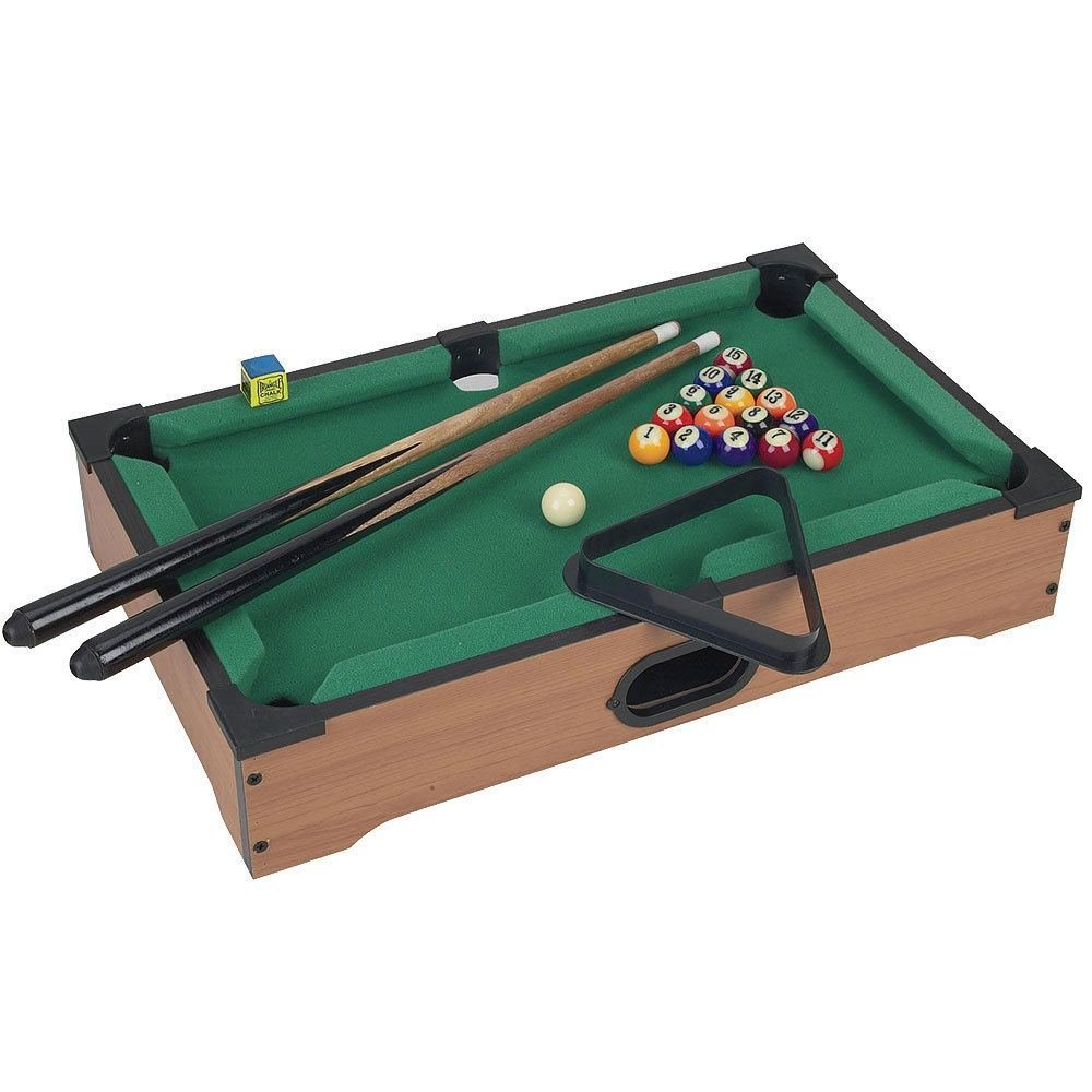 Trademark Games Mini Table Top Pool Table and Accessories