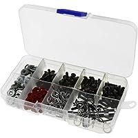 ENET 270 Stks Schroeven Doos Reparatie Tool Verschillende Kit Fit Voor 1/10 HSP RC Auto Accessoires