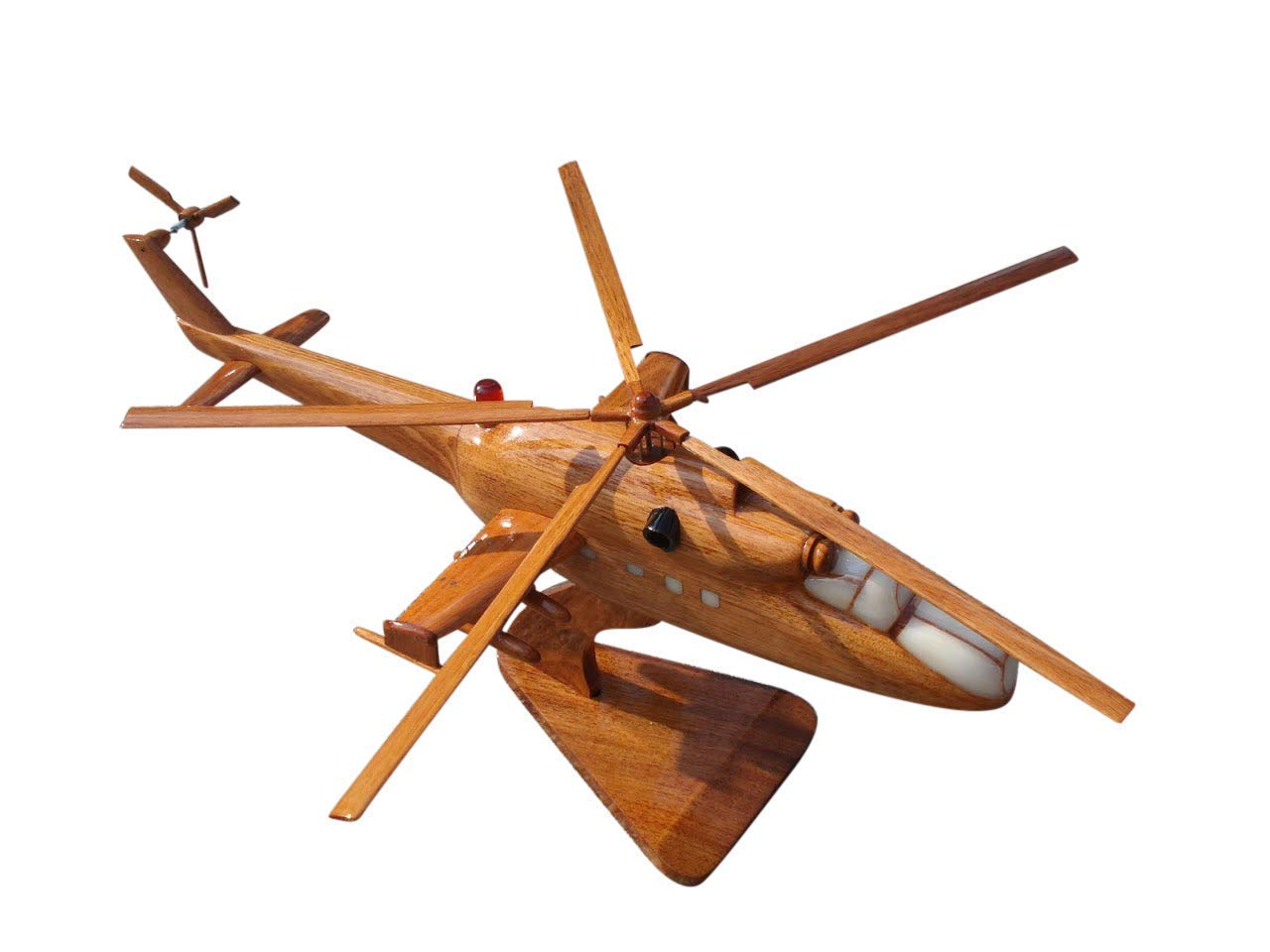 Wood Helicopter