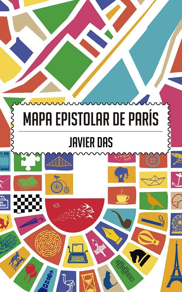 Mapa epistolar de París por Javier Das