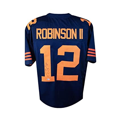 promo code cd79d a262b Allen Robinson Autographed Chicago Bears Custom Football ...