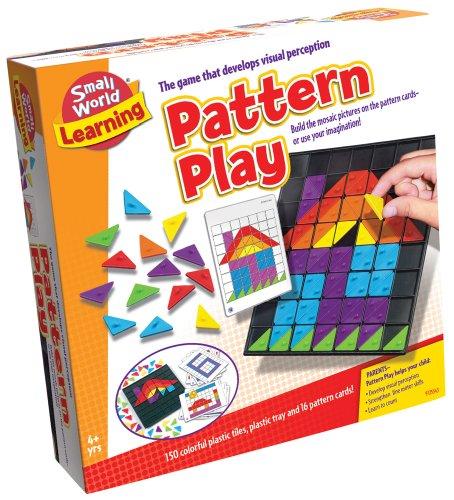 Small World Toys Learning - Pattern Play Mosaic - Visual Motor