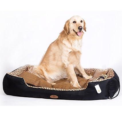 MUJING Oxford - Almohadilla para perro, grande, labrador para perro, cama para mascotas, totalmente extraíble y lavable, ...