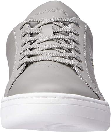 Lacoste Challenge 119 2 SMA - Zapatillas Deportivas para Hombre, Color Gris y Blanco