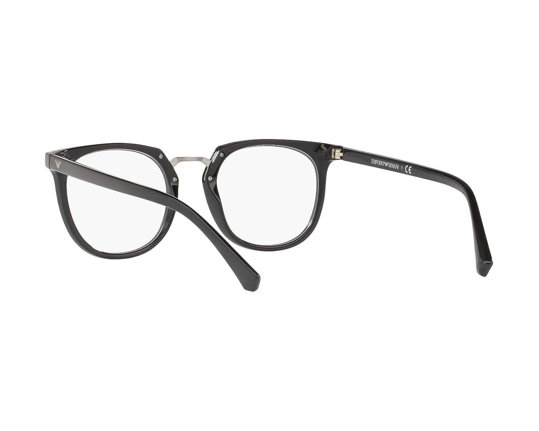 715f448817a Armani EA3139 Eyeglass Frames 5017-51 - Black EA3139-5017-51 at Amazon  Men s Clothing store