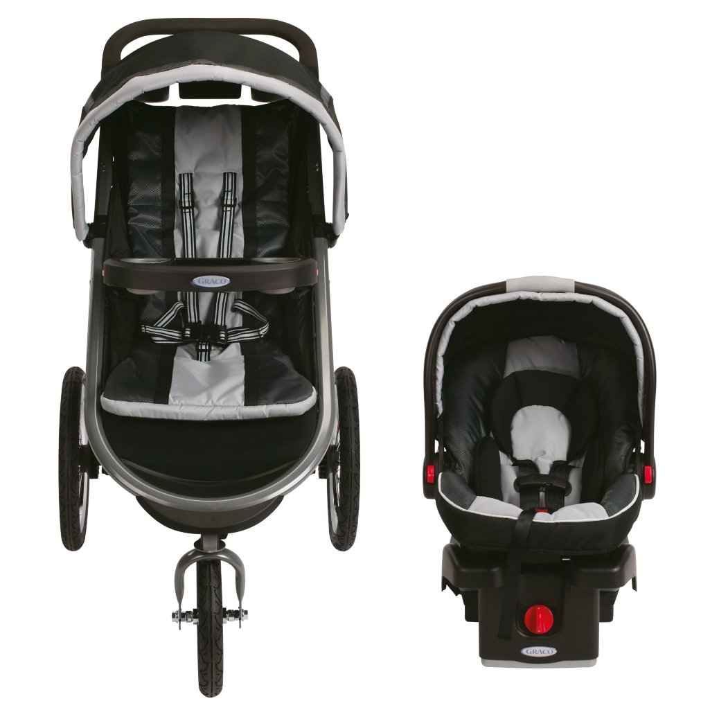 Graco FastAction Fold Jogger Click Connect Travel System, Gotham (Discontinued by Manufacturer) by Graco (Image #9)