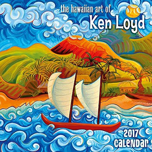 Hawaii 2017 Deluxe Wall Calendar
