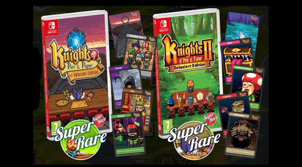 SRG#11/12: Knights of Pen and Paper Double Pack