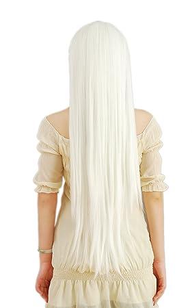 HOOLAZA Peluca cosplay larga y recta Inuyasha Superbia ...