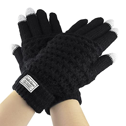 Sports & Entertainment Outdoor Sports Autumn Winter Gloves Men Thicken Warm Cashmere Thermal Mittens Male Touching Screen Gloves For Smart Phone/ipad